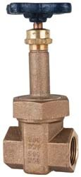 Nibco T-174-A Bronze 2-Port Block Pattern Gate Valve, 1-1/2'' by Nibco