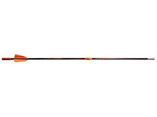 Victory 22'' Voodoo Carbon Crossbow Bolt with Flat Nock Black Pack of 3