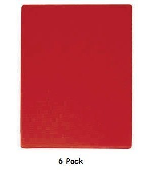 Access (6 Pack) Red Color Cutting Board 20