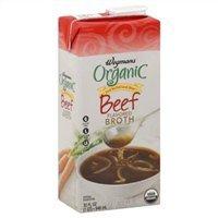 Wegmans Beef Broth, Organic, Low Sodium, 32oz (Pack of 4)