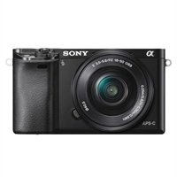 Sony Alpha a6000 Mirrorless Digital Camera with 16-50mm Power Zoom Lens ()