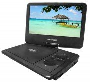 "Sylvania 9"" Swivel-screen Portable Dvd & Media Player With 4"