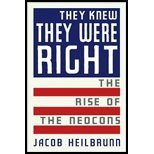 They Knew They Were Right (08) by Heilbrunn, Jacob [Hardcover (2008)]