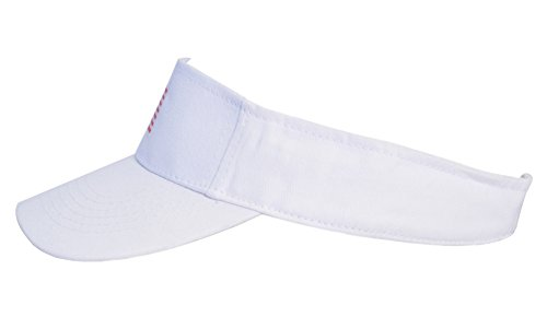 851e0424518 KC Caps Men American Flag Sports Tennis Golf Sun Visor Hat Patriotic Women  Polo Sun Cotton