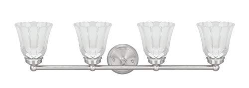 (Aspen Creative 62173-1, Four Metal Bathroom Light Fixture, 30