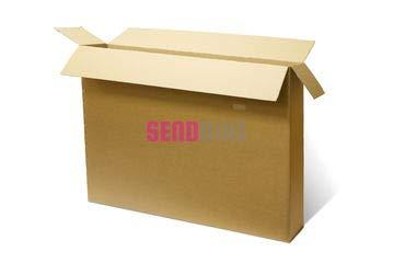 Caja de cartón para bicicleta, caja de transporte: Amazon.es: Oficina y papelería