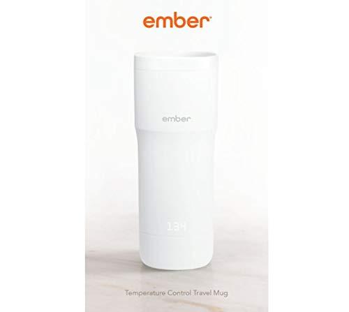 Ember Temperature Control Travel Mug, White