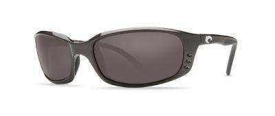 Costa Del Mar Brine Sunglasses Gunmetal / Gray 580Glass