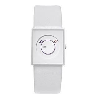 Xen Reloj de hombre Icon Blanco/Lila: Amazon.es: Jardín