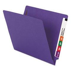 Smead Watershed/cutless End Tab Fastener Folders - Letter - 8.50 Width X 11 Length Sheet Size - 2