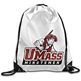 NUBIA Umass Minutemen Backpack Gymsack Drawstring Gym Sack