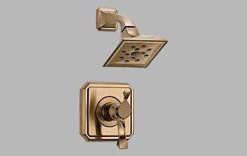 (Brizo T60230-BZ Virage TempAssure Thermostatic Shower Trim, Brilliance Brushed Bronze)