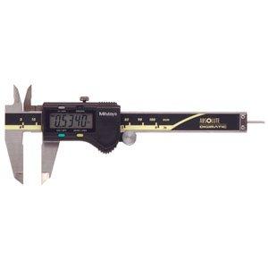 Mitutoyo Caliper Parts (PART NO. MTI50019530 Mitutoyo 500-195-30, 0-4 In/100mm, .0005 In/0.01mm ABSOLUTE AOS Digimatic Caliper, No Output, .075 In Round Depth Bar)