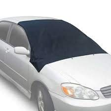 (Windshield Snow Cover - Magnetic Automobiles Windshield Ice Cover Protect Windshield Wipers from Snow,Ice Frost Large Size (82.7 x 47 in) Most Vehicle Cars Vans SUVs & Trucks)