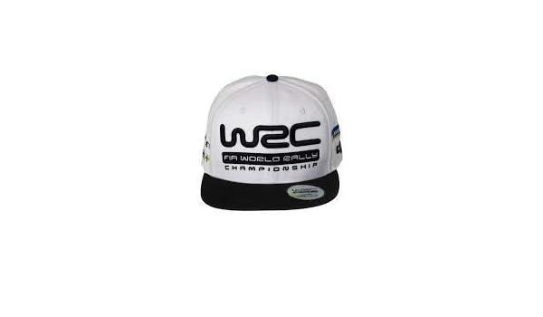 WRC World Rally Championship Snapback Rallye - Gorra, Color Blanco ...