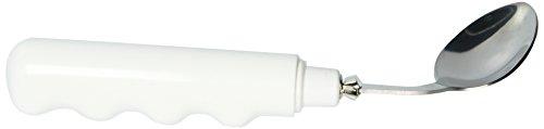 Sammons Preston Comfort Grip Curved Utensils (Teaspoon, Right) -