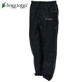 Frogg Toggs Road Toad Rain Pants (LARGE) (BLACK)