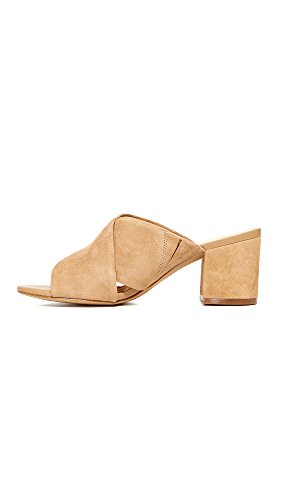 Golden Stanley Slide Sam Sandal Women's Caramel Edelman Suede 7HWqP