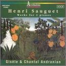 Henri Sauguet: Works for 2 Pianos