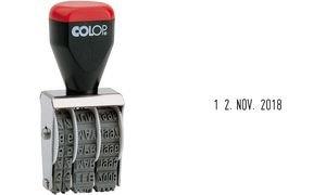 COLOP Bänderstempel 4 mm Datum Datumsstempel 04000 4mm Colop