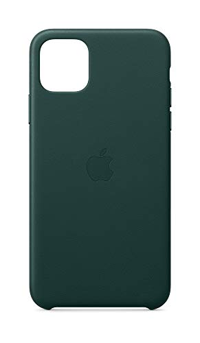 Apple Leather Case (for iPhone 11 Pro Max) - Forest Green