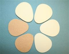 Orthopedic Felt Metatarsal Pads with Adhesive 2-3/4