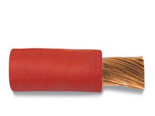 1/0 Ga Bare Copper Sgx Battery Cable Red-100Feet