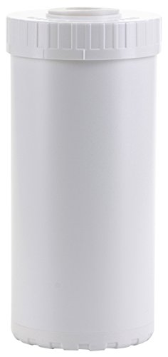 Hydronix HX-EC-4510W White Empty Water Filter Cartridge Durable Construction For Pre Post Fits Big Blue Housings 4.5 x 10