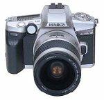 Minolta Maxxum 4 Date SLR Camera Kit w/28-80mm AF Silver Zoo