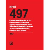NFPA 497 Classification of Flammable Liquids, Gases, or Vapors...