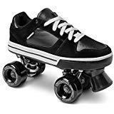 Street Roller Skate Low Top (Black, 13)