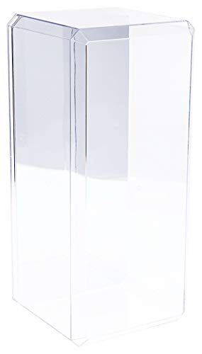 Pioneer Plastics Clear Acrylic Beveled Edge Display
