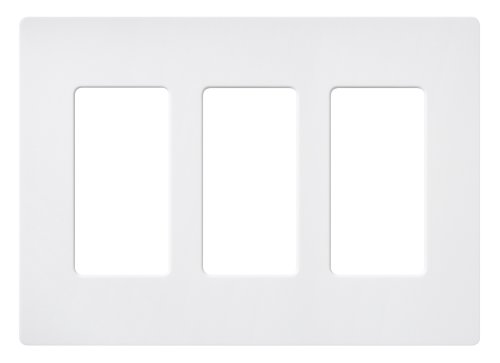 lutron-sc-3-sw-claro-three-gang-wallplate-snow