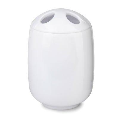 Hermoso blanco accesorios de baño Madrid - cepillo de dientes titular [E91601] (ionizacion