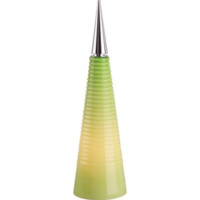 ET2 Lighting E20036-04 Point - One Light Cone Table Lamp, Chrome Finish with Green ()