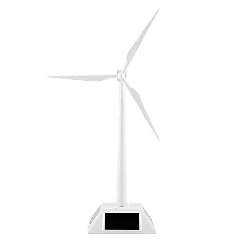 - FTVOGUE Solar Powered Wind Mill Model Desktop Decor Craft Kids Children Education Learning Toy