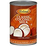 Roland Coconut Milk Kosher, 1-Ounce (Pack of 12) ()