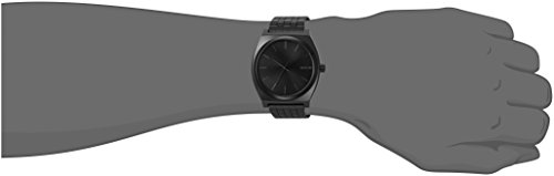 NIXON Time Teller A045-100m Water Resistant Men's Analog Fashion Watch (37mm Watch Face, 19.5mm-18mm Stainless Steel…