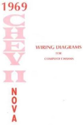 Amazon Com 1969 Chevrolet Chevy Ii Nova Wiring Diagrams Schematics Everything Else