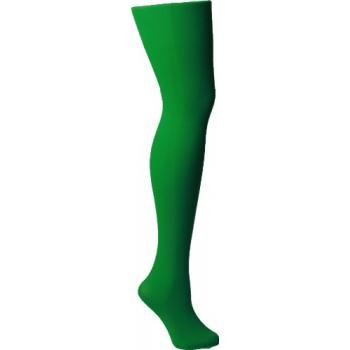 Foot Traffic Solid Opaque Tights (Kelly Green) size 50-58