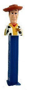 Brand New in Package Toy Story WOODY Pez Candy Dispenser plus Candy ()