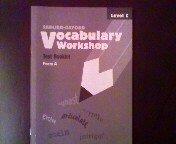 Sadlier-Oxford Vocabulary Workshop Test Booklet Form A Level C