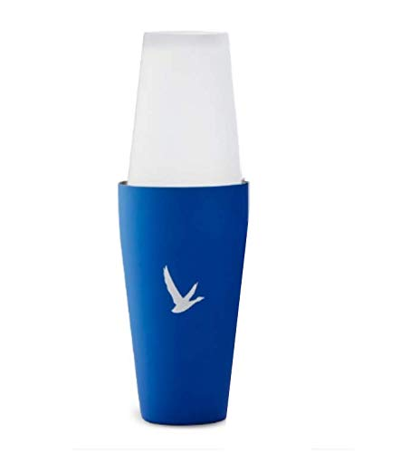 Limited Edition Collectors Grey Goose Cocktail Boston Shaker Bartender Kit - Set Metal Shaking Tin and Frosted Mixing Glass. Pour a Goose Martini at Home or at your Bar with These Great Barware Tools