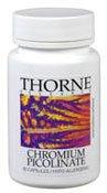 Thorne Research - Chromium Picolinate - 60ct