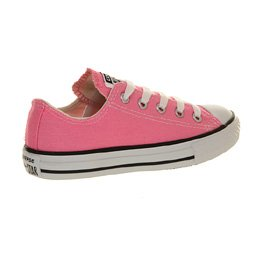 Converse Youth Chuck Taylor All Star Ox Canvas Trainers Pink