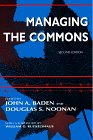 Managing the Commons, Baden, John A. and Noonan, Douglas S., 025333361X