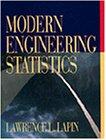 Modern Engineering Statistics 1st Edition