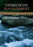Operations Management 10th Edition by Stevenson, William [Hardcover]