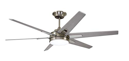 "Emerson CF915TM72BS 72"" Rah Eco Ceiling-Fans, Brushed Steel"
