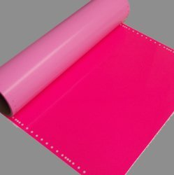 Amazon Com Hot Pink Heat Transfer Vinyl Sheet 12x36